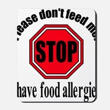 Food Allergies 1 Mousepad