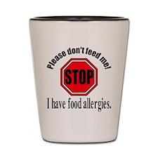 Food Allergies 1 Shot Glass