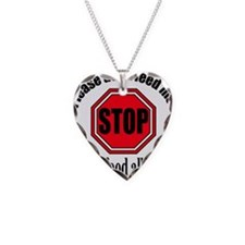Food Allergies 1 Necklace Heart Charm