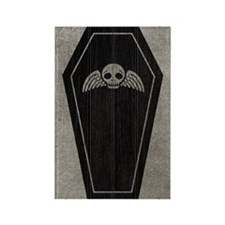 coffin_gray_iii Rectangle Magnet