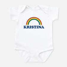 KRISTINA (rainbow) Infant Bodysuit
