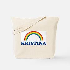 KRISTINA (rainbow) Tote Bag