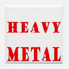 heavymetal Tile Coaster
