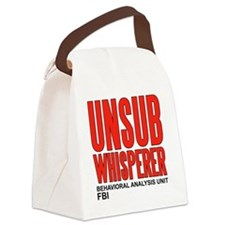 unsub whisperer Canvas Lunch Bag