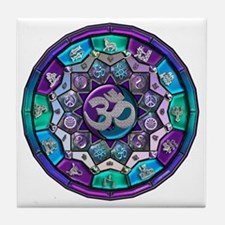 UROCK Independence Mandala Tile Coaster