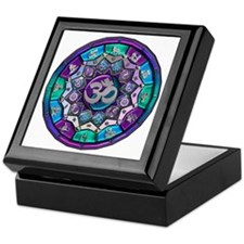 UROCK Independence Mandala Keepsake Box