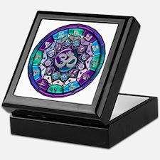 UROCK Independence Mandala Keepsake Box