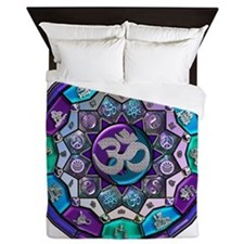 UROCK Independence Mandala Queen Duvet