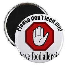 Food Allergies 2 Magnet