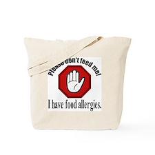 Food Allergies 2 Tote Bag