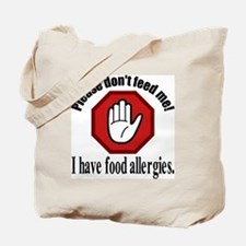 Food Allergies 2 Tote Bag