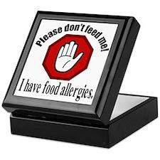 Food Allergies 2 Keepsake Box