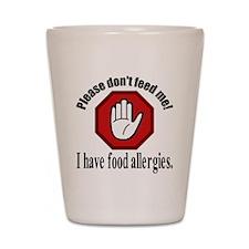 Food Allergies 2 Shot Glass