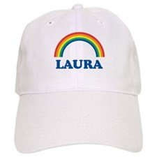 LAURA (rainbow) Baseball Cap