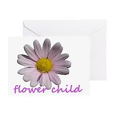 flower child Greeting Card