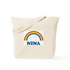 NINA (rainbow) Tote Bag