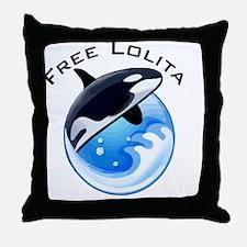 FreeLolita Throw Pillow