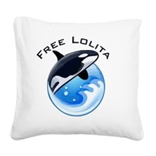 FreeLolita Square Canvas Pillow