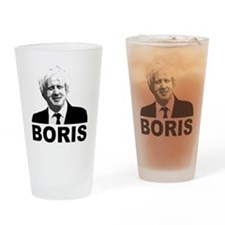 Boris Johnson Drinking Glass
