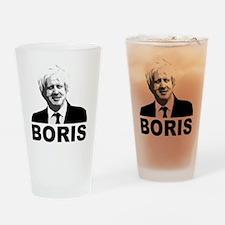 Boris Johnson Drinking Glass