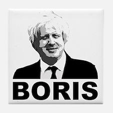 Boris Johnson Tile Coaster