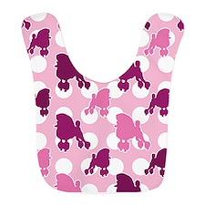 poodle_pattern_pink Bib