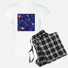 solar system back Pajamas