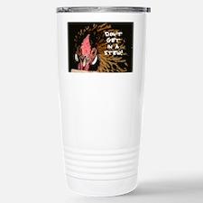 Mad Chicken Stainless Steel Travel Mug