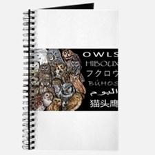 Owls Collage Journal