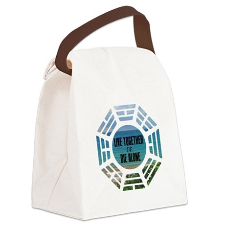 liveordiewh Canvas Lunch Bag