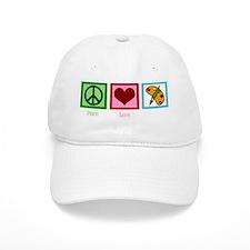peacelovepaintingwh Baseball Cap