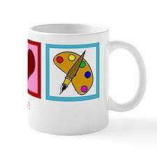 peacelovepaintingwh Mug