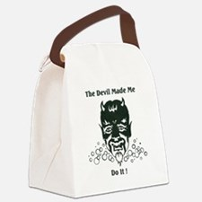 Devil III Canvas Lunch Bag