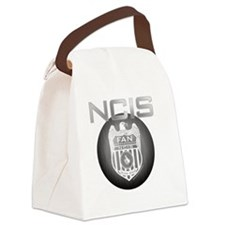 badgeNCIS_TV1 Canvas Lunch Bag