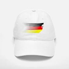 AthleticsDesign GERMAN White Baseball Baseball Cap