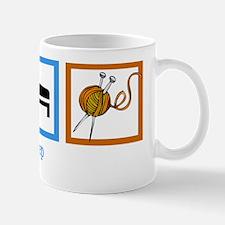 eatsleepknitwh Mug