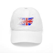 AthleticsDesign UK White Baseball Cap