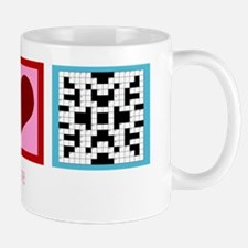 peacelovecrosswordswh Mug