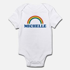 MICHELLE (rainbow) Infant Bodysuit