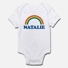 NATALIE (rainbow) Infant Bodysuit