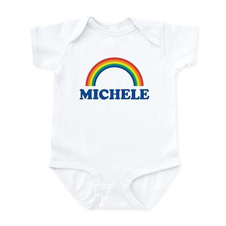 MICHELE (rainbow) Infant Bodysuit