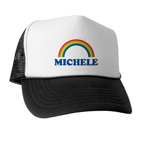 MICHELE (rainbow) Trucker Hat