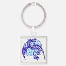 dragon Square Keychain