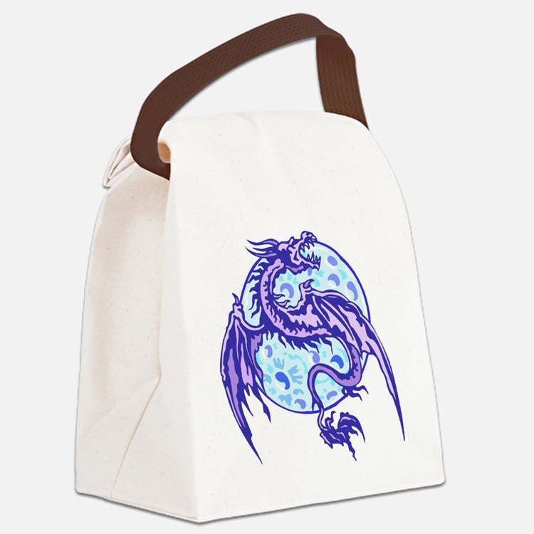 dragon Canvas Lunch Bag