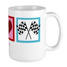 peaceloveracingwh Mug