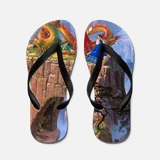 Dragon Serenade Flip Flops