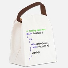 babybib Canvas Lunch Bag