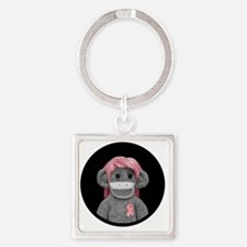 emma jones soda (round logo button Square Keychain