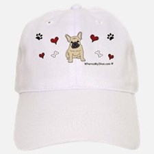 FrenchBulldogFawn.gif Baseball Baseball Cap
