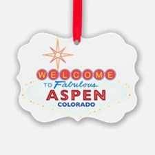 ASPEN DARK Ornament